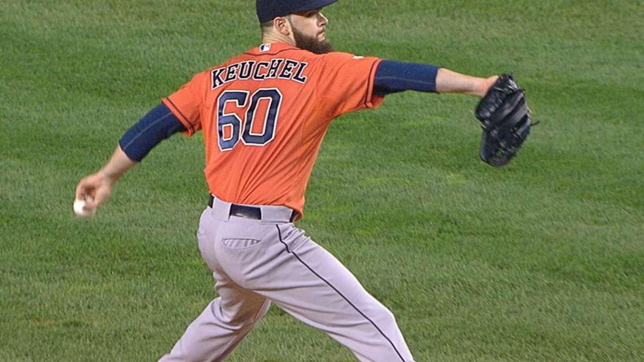 Keuchel strikes out A-Rod