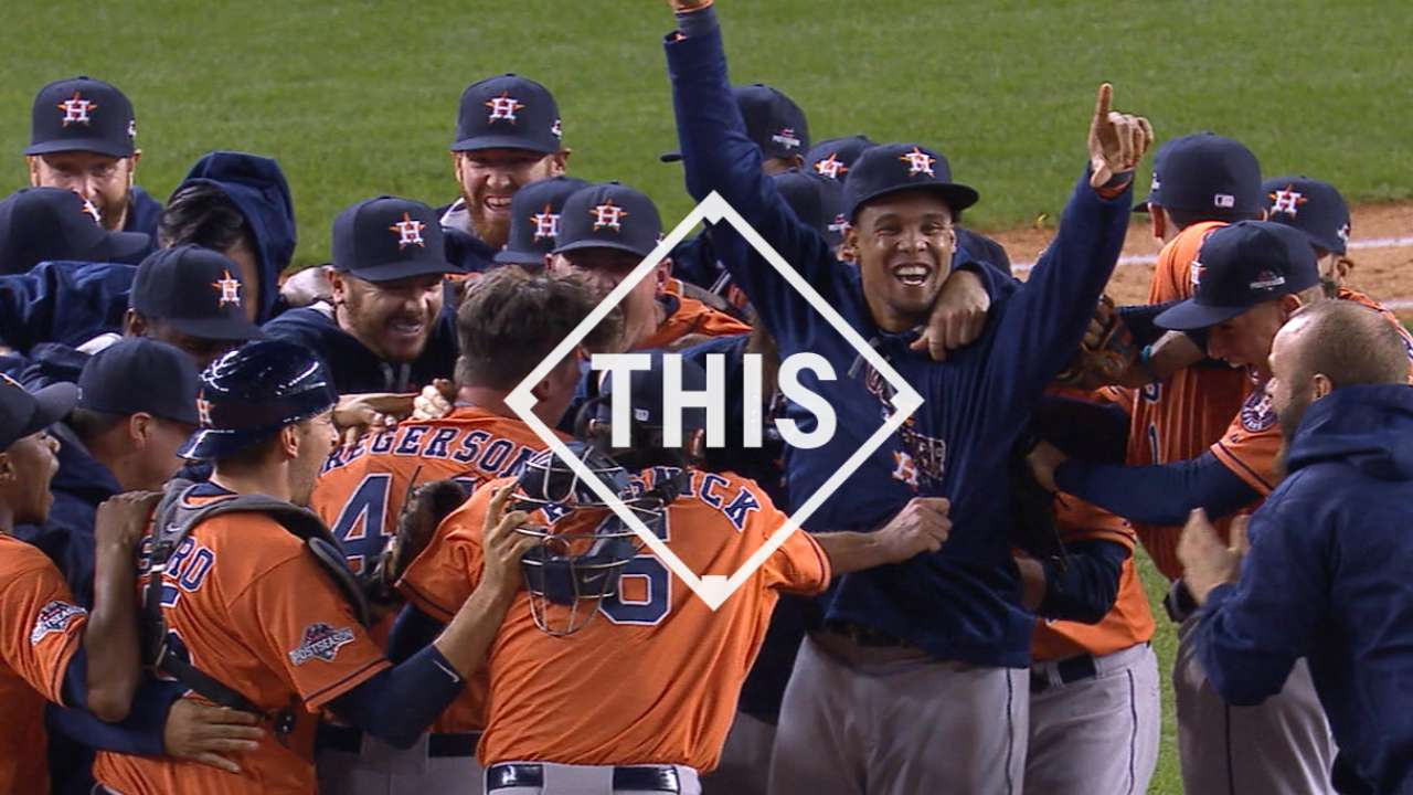 #THIS: Astros advance to ALDS