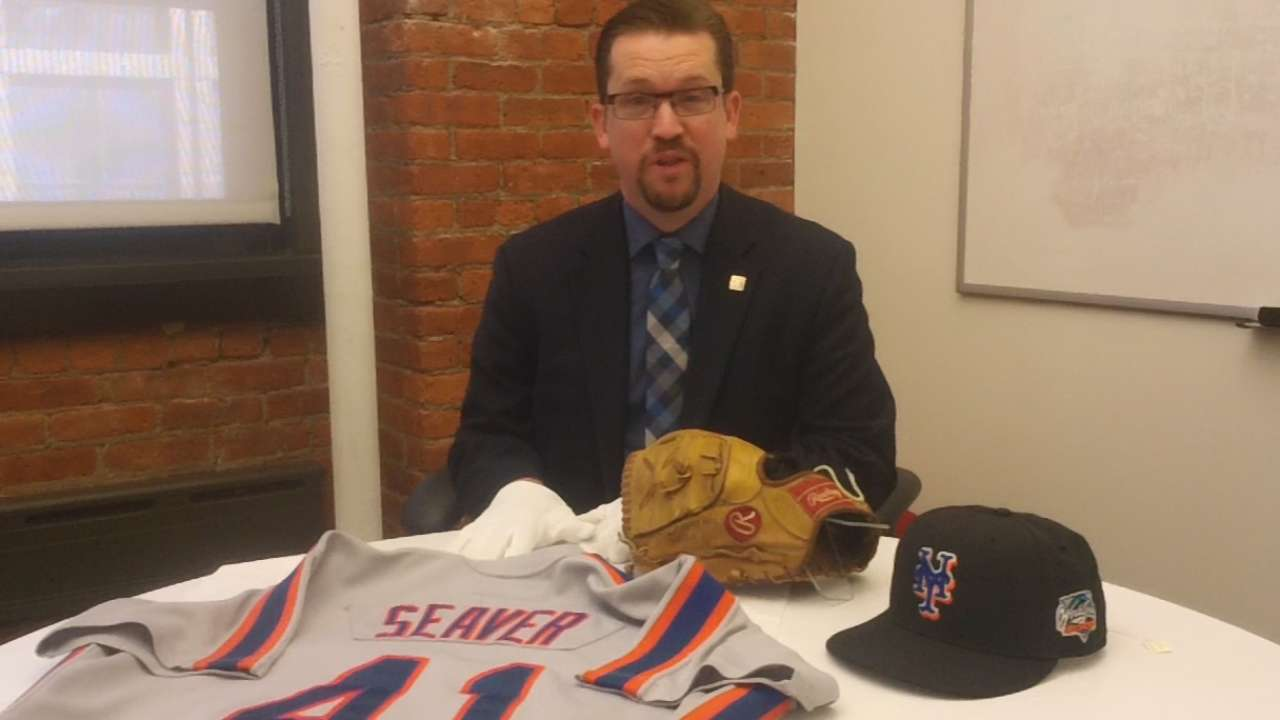 A look at items from past Mets World Series runs