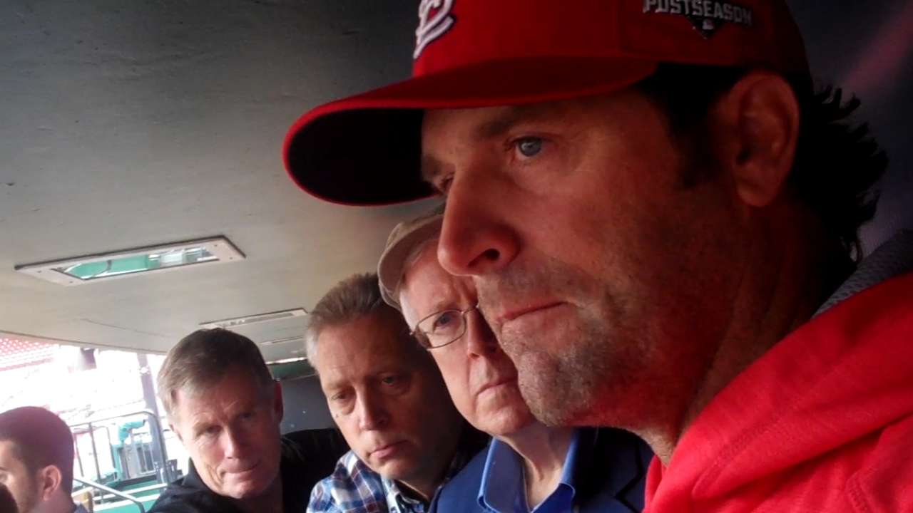Matheny: Tough roster decisions for Cards