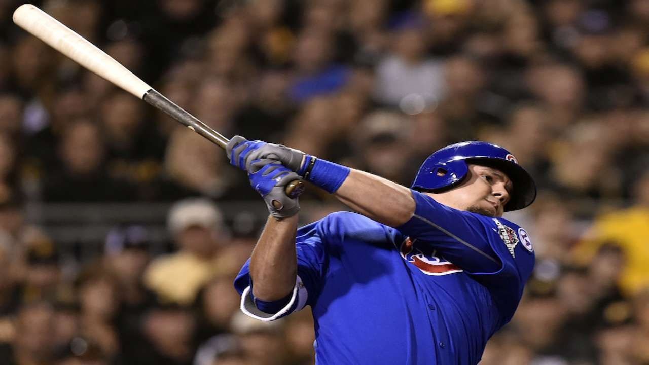 Schwarber on 4-0 Wild Card win