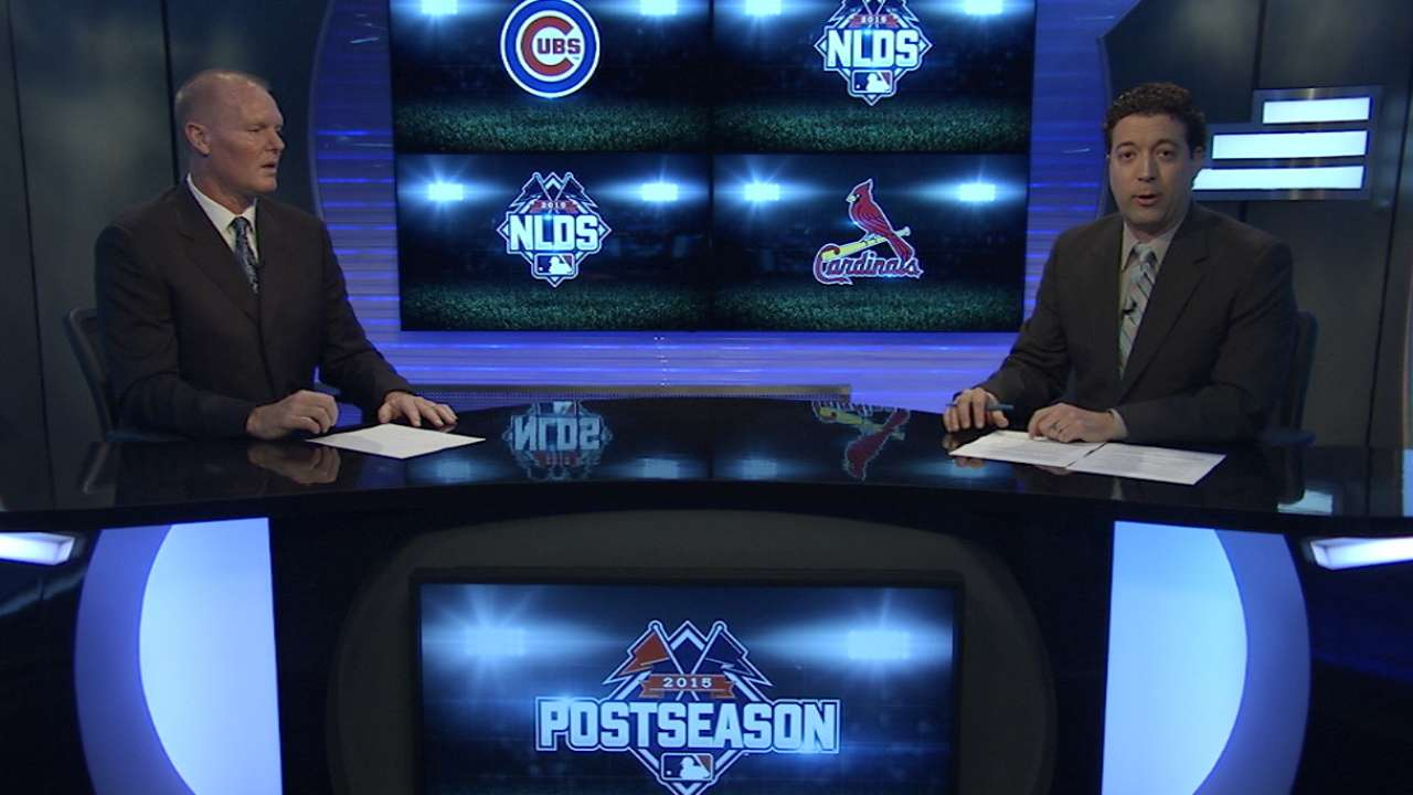 Cubs go with 11 pitchers on Division Series roster