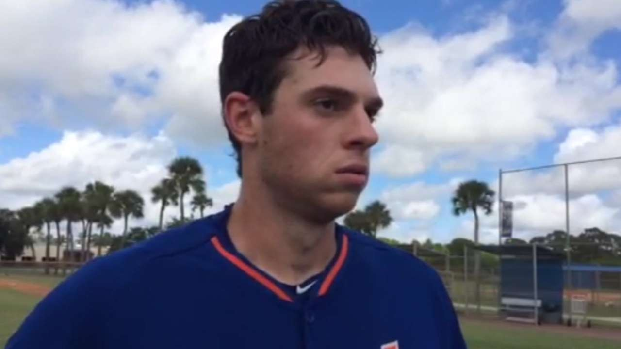 Matz on Mets' roster for Division Series
