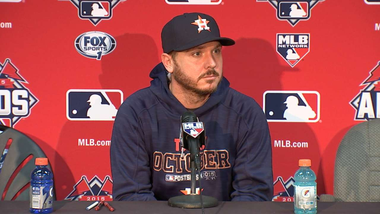 Kazmir plans to repay Astros' confidence