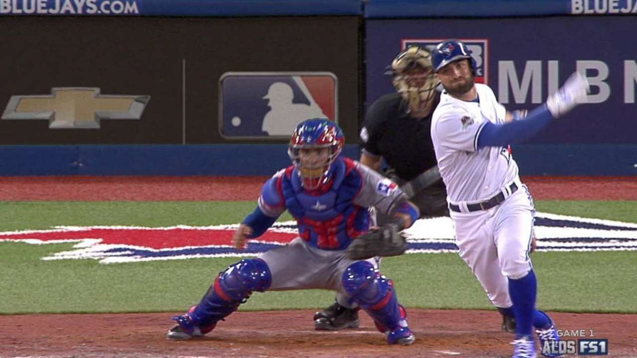 Blue Jays drop Game 1 to Rangers