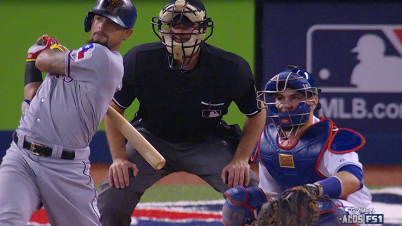 Eventful Game 1 for Odor includes home run
