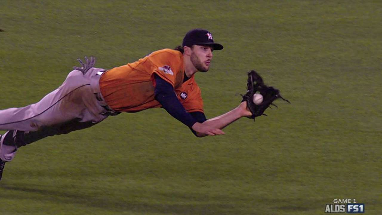 Marisnick's diving catch