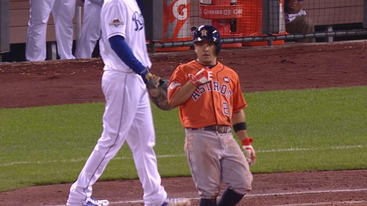 Altuve's three-hit game
