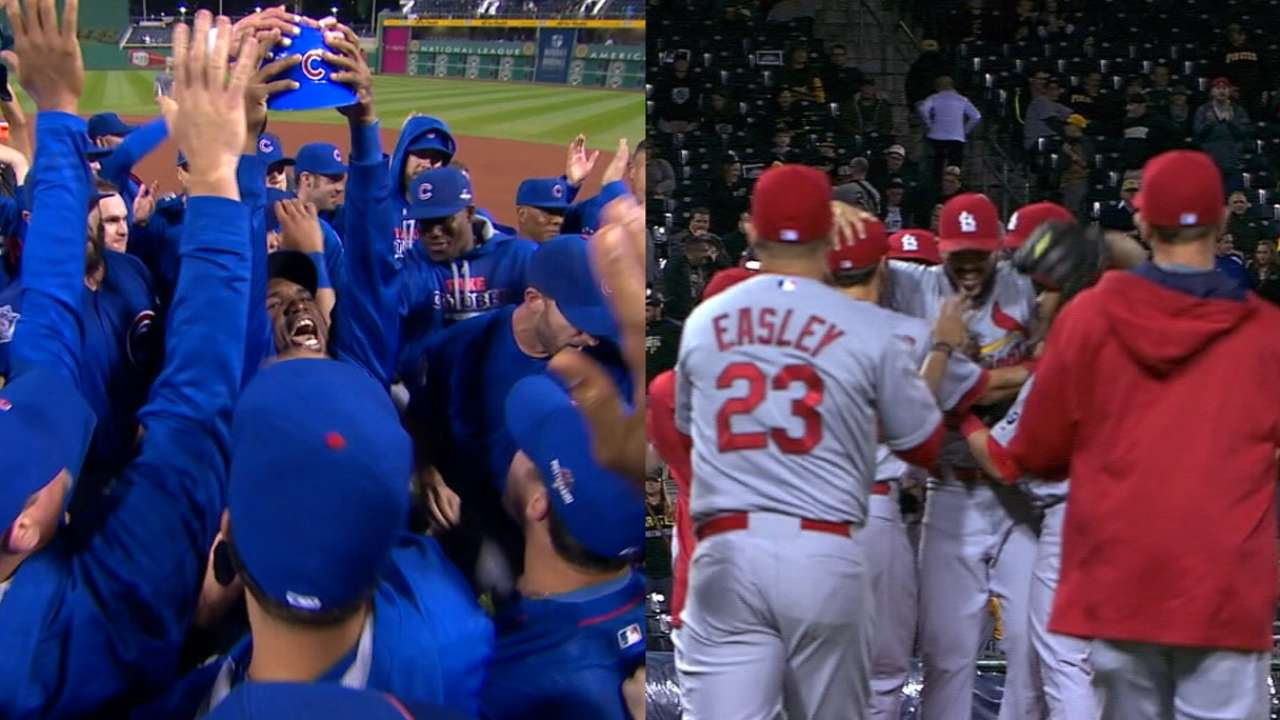 Notable players overlap in Cubs-Cards rivalry