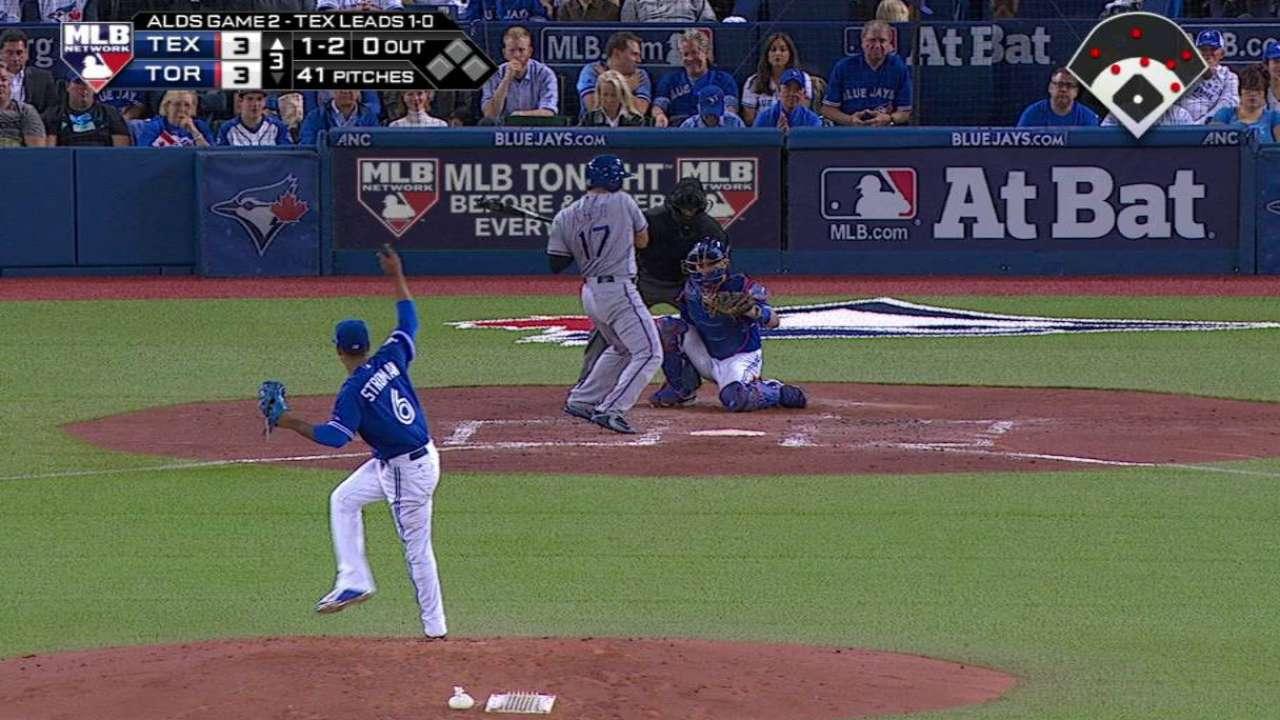 Azulejos confían en Marcus Stroman para eliminar a Rangers