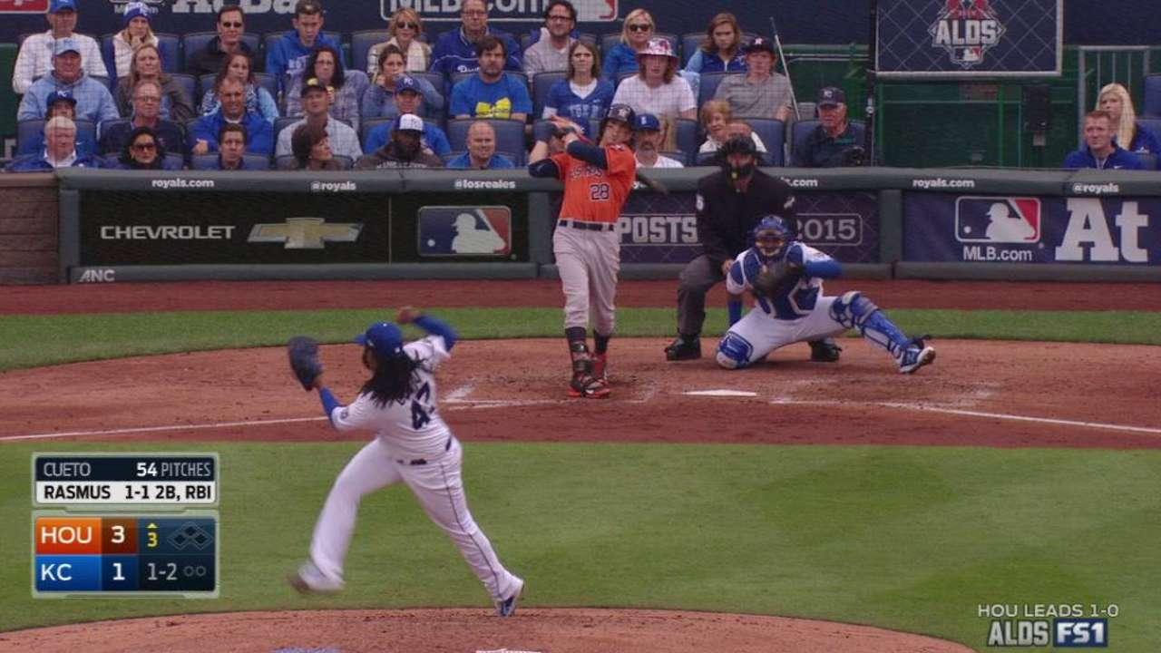 Rasmus' solo home run