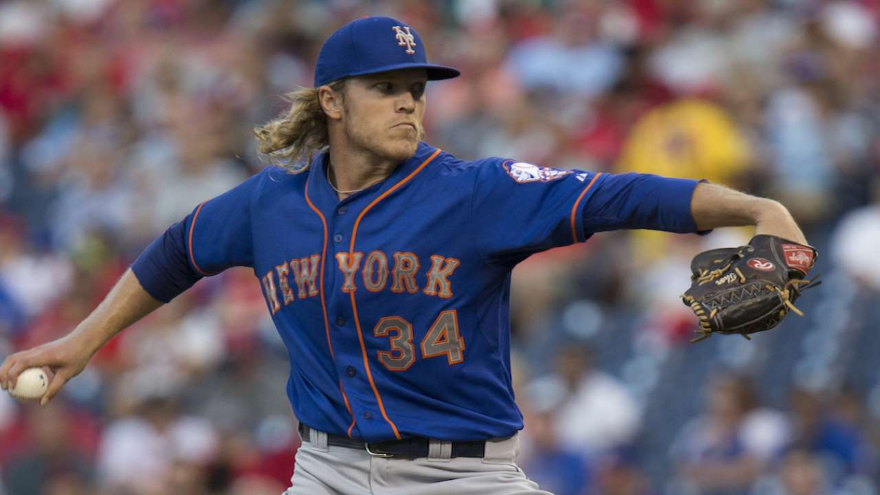 Maturing at right time, Syndergaard starts Game 2