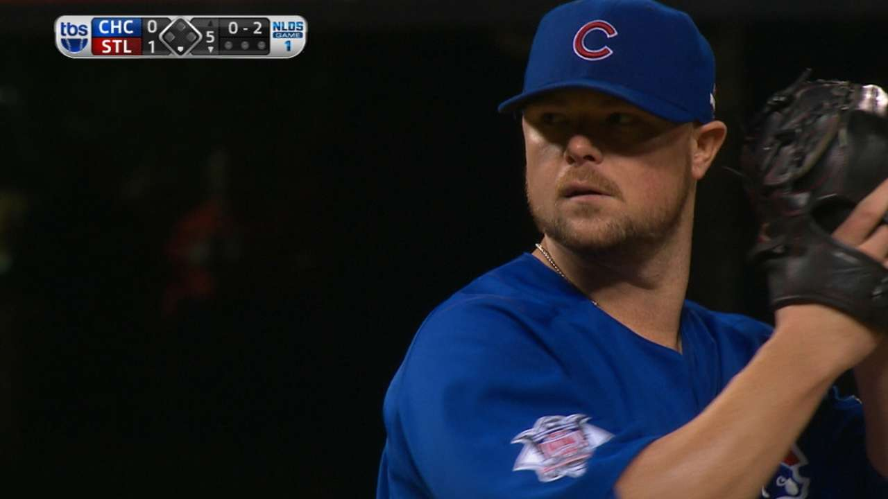 Lester outdueled as Cubs fall in Game 1