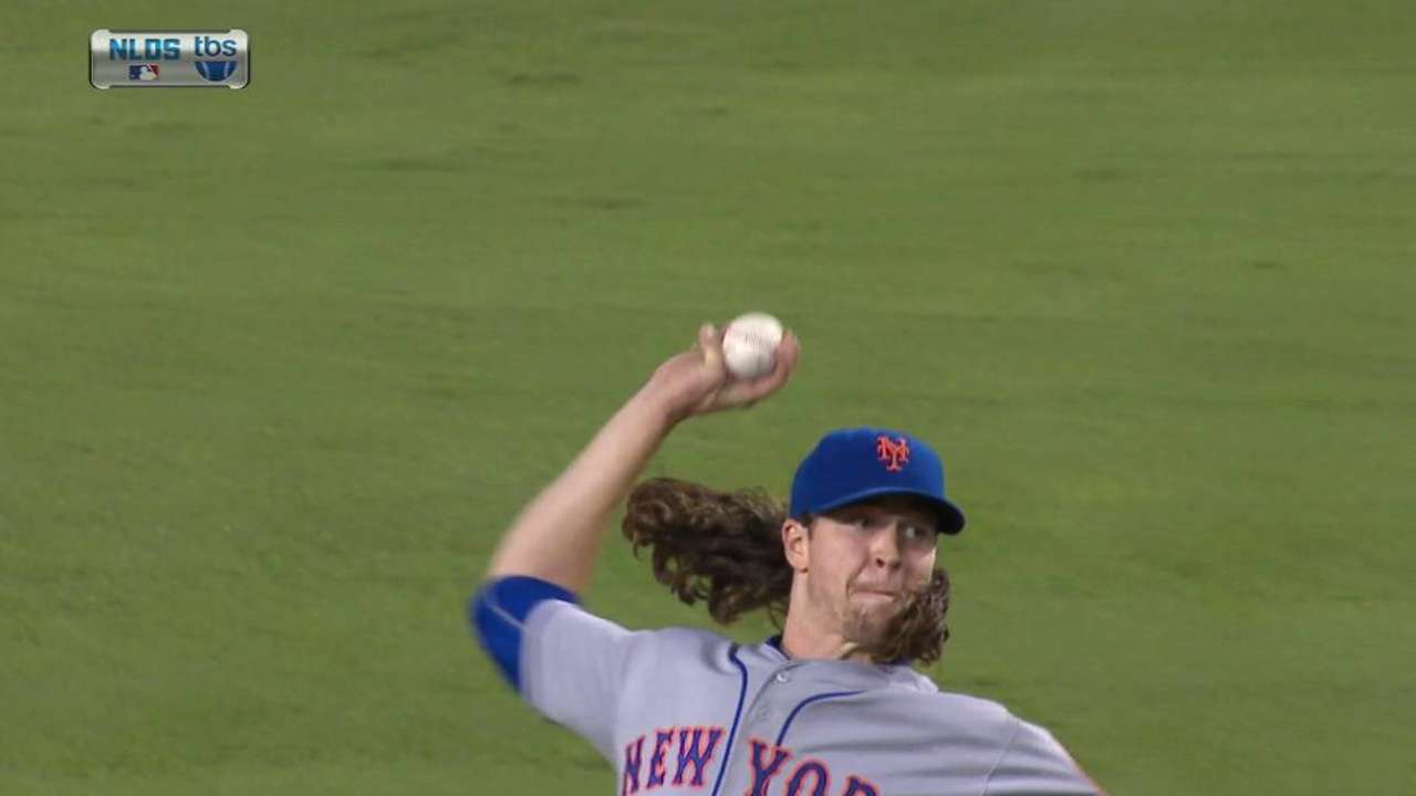 deGrom's 11th strikeout