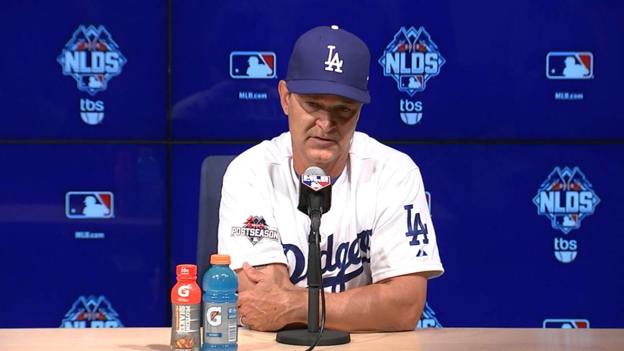 Mattingly on 3-1 loss in Game 1