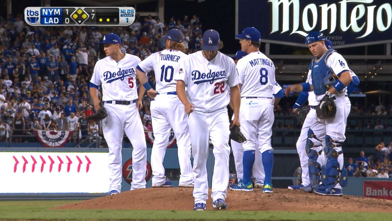 Mattingly lifts Kershaw in 7th