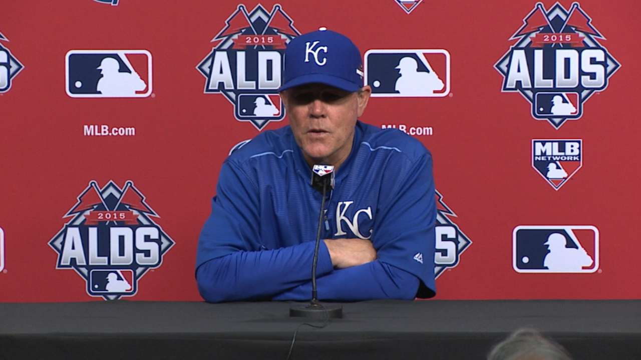 Yost on Royals' approach