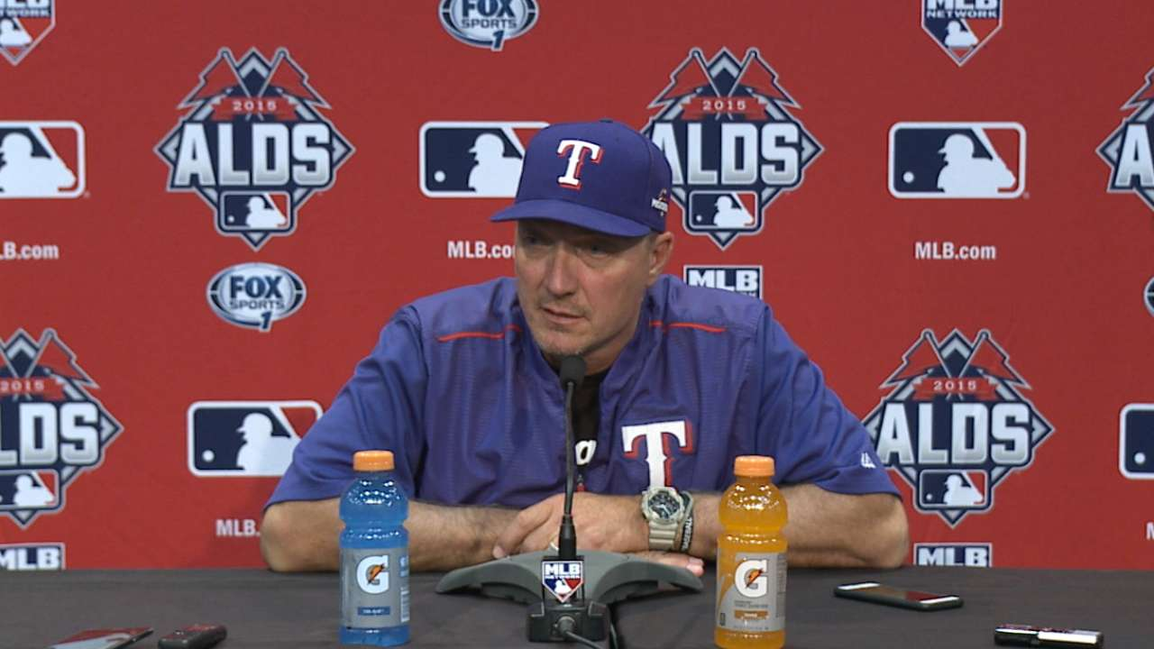 Beltre resting; Game 3 status undecided