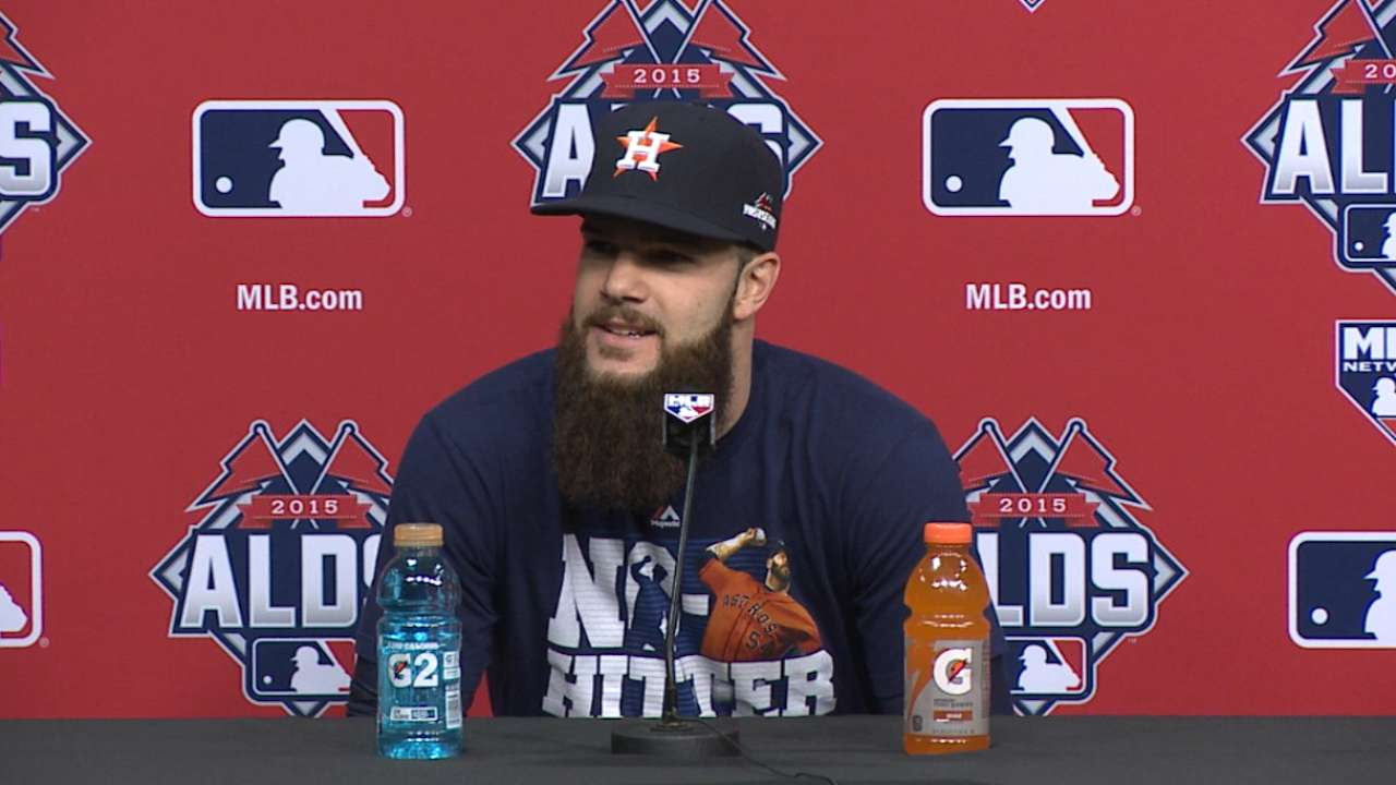 Home digs perfect fit for Keuchel in Game 3