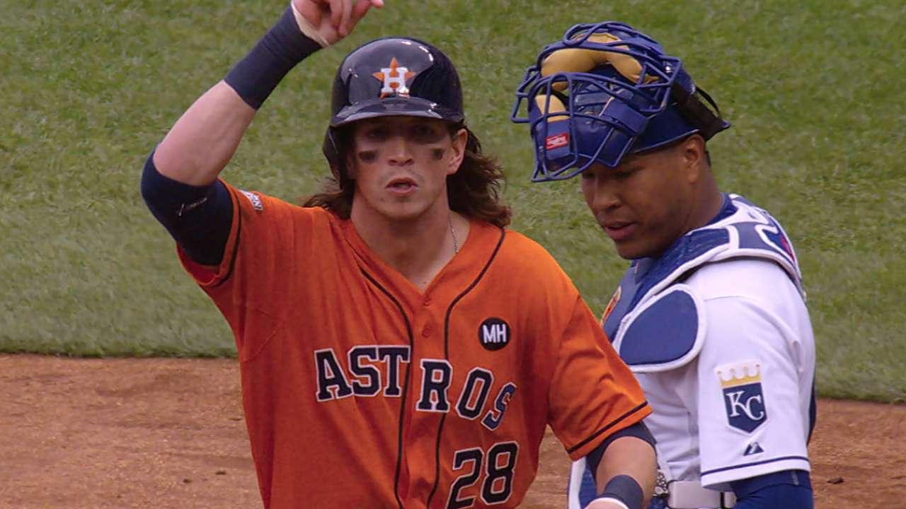 Gomez starting for Astros, batting sixth