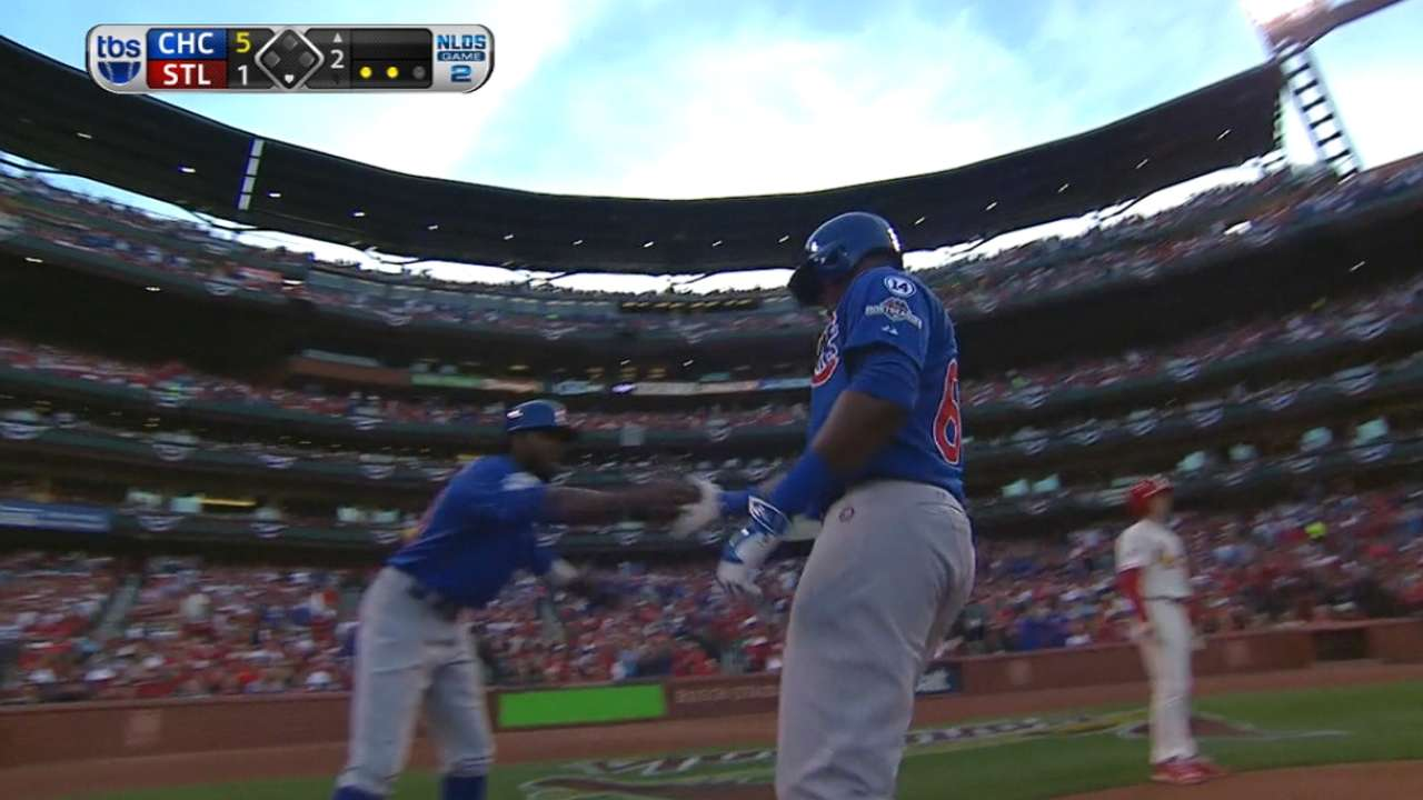 Spirit of 'Zim': Cubs use small ball in 5-run 2nd