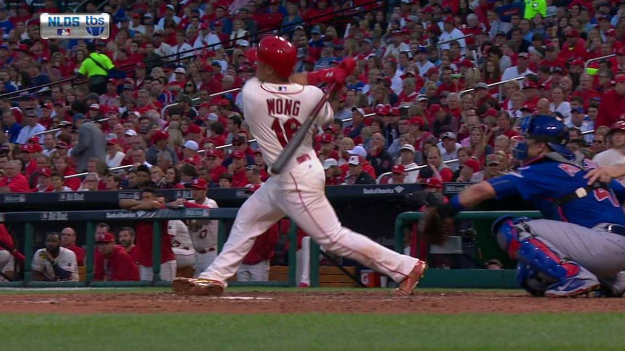 Wong's solo home run