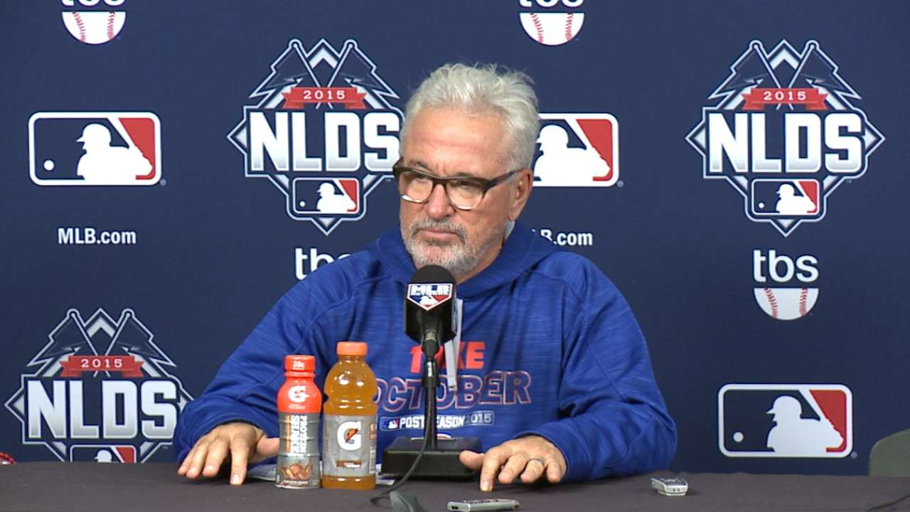 Young Cubs, Maddon create good vibrations