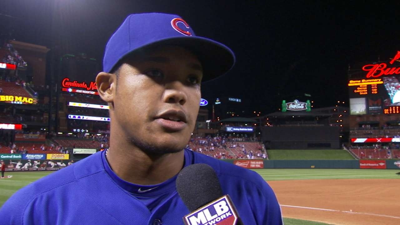 Young studs: Cubs rookies making history