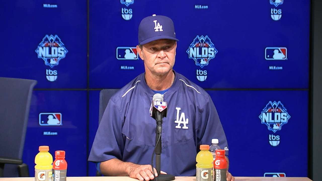 Mattingly on NLDS Game 2 win
