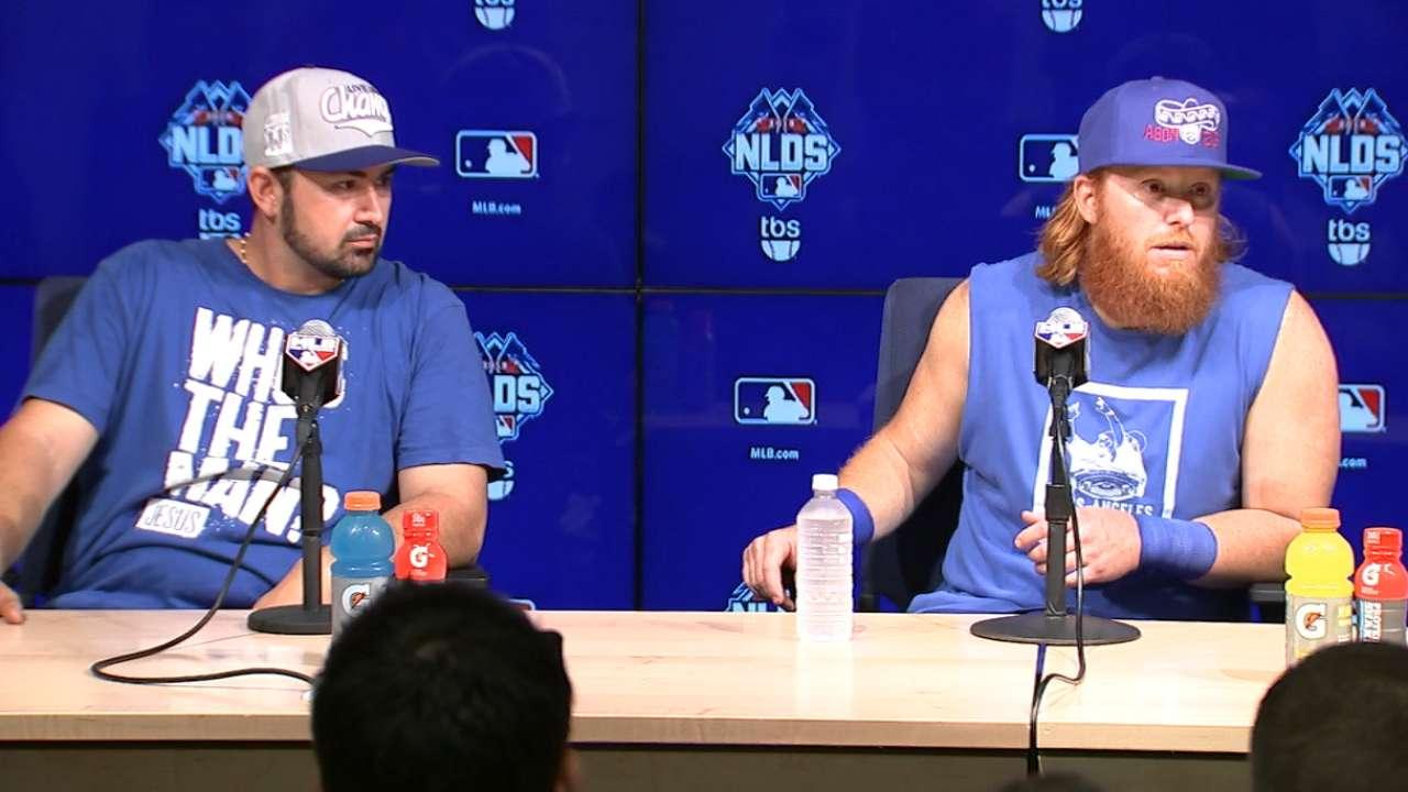 Dodgers bats erupt after Syndergaard departs