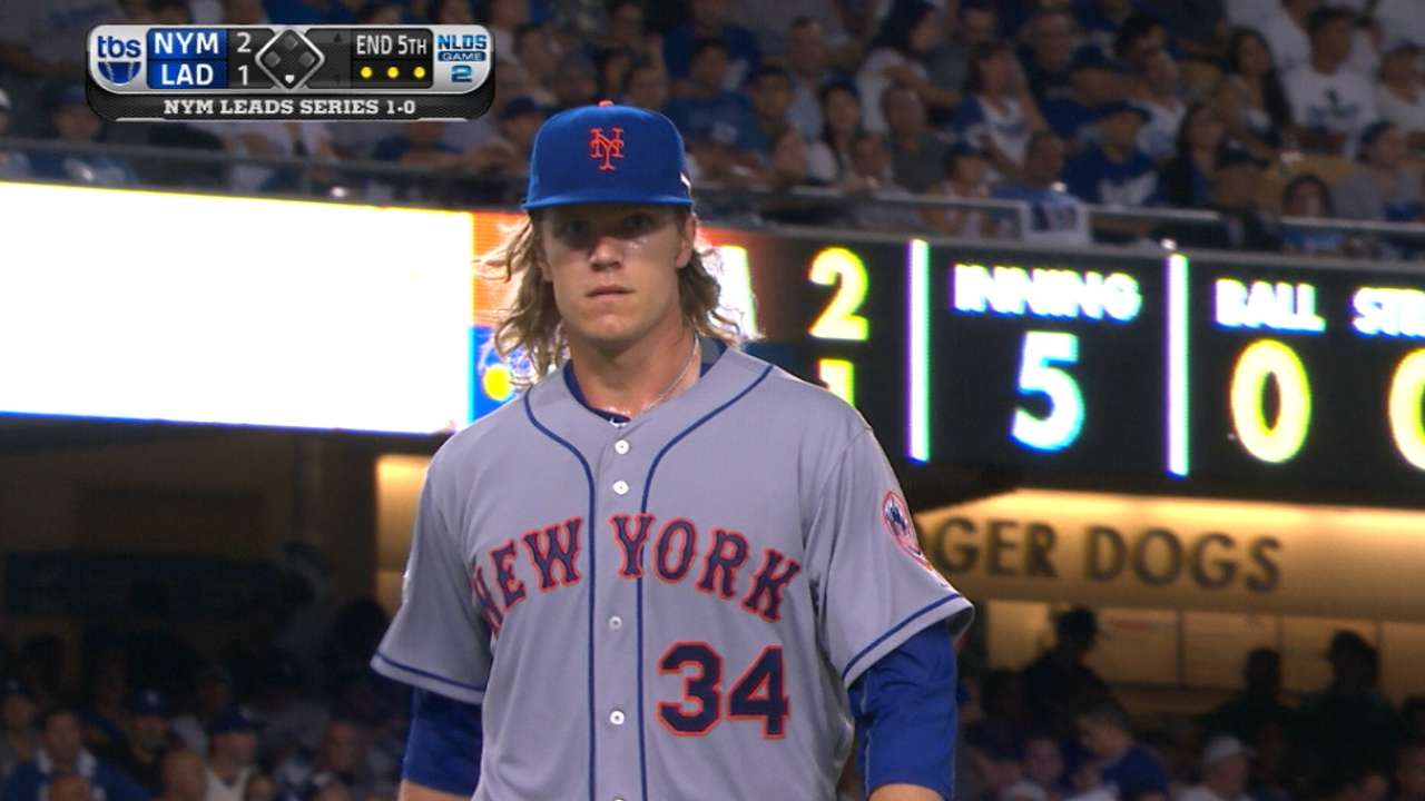 Syndergaard's nine strikeouts