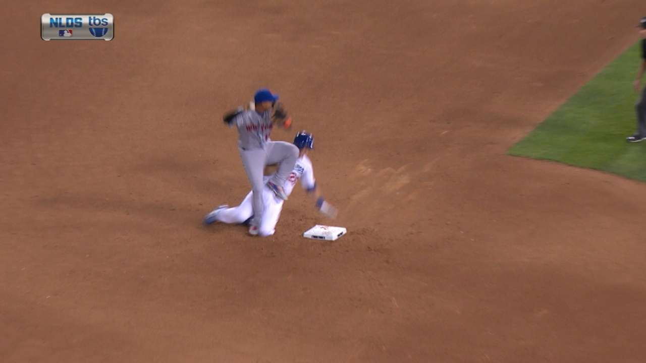 Must C: Tejada injured on slide