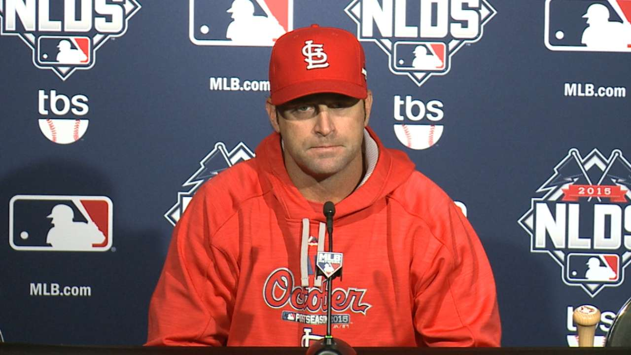 Confident Cardinals unfazed by facing Arrieta