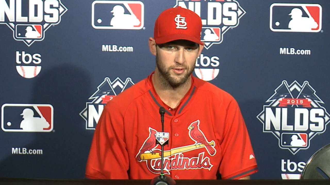 Wacha talks about Game 3 start in workout day Q&A