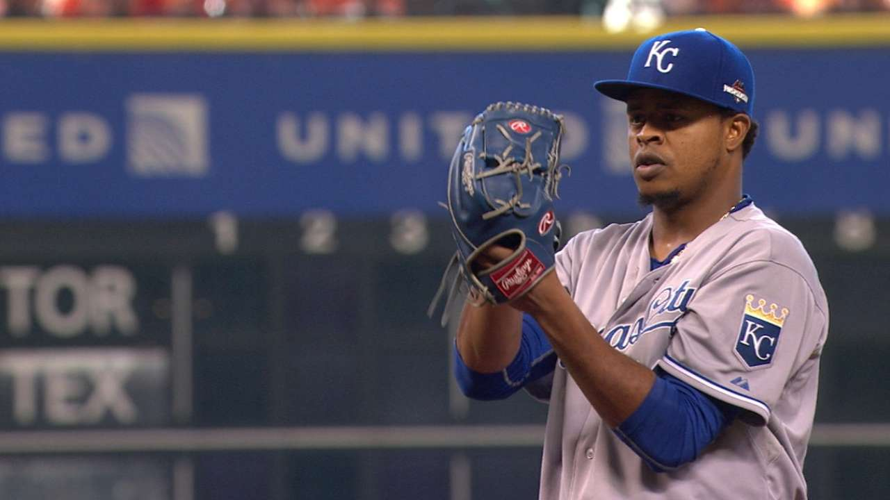Volquez strikes out eight