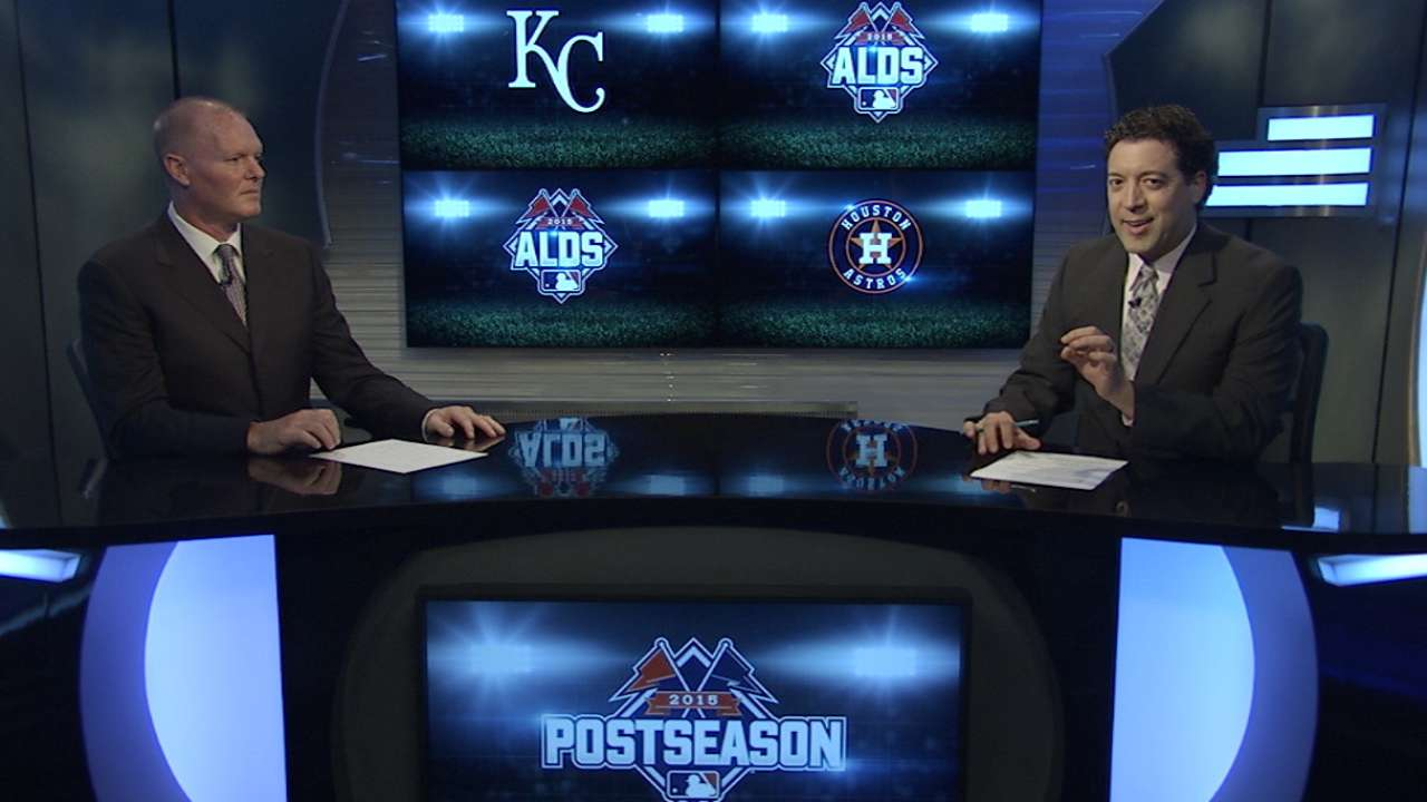 Royals, Astros lineups for Game 4 of ALDS