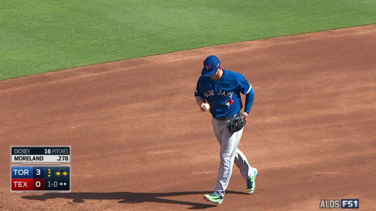 Dickey works out of the 1st