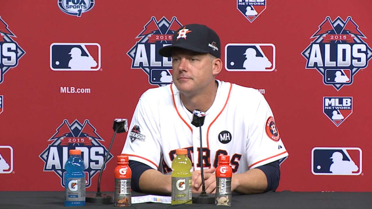 Six outs from ALCS, 'pen gives up lead