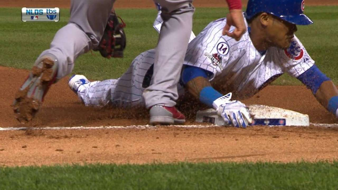 Cubs hope Russell's back up the middle in NLCS