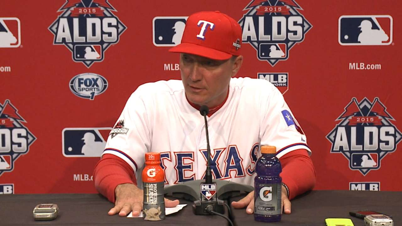 Banister on Game 4 ALDS loss
