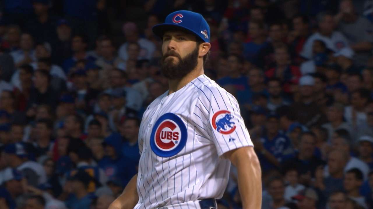 Cubs return favor, carry Arrieta to victory
