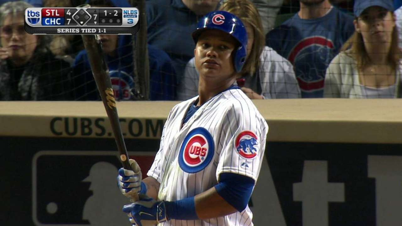 Castro provides flexibility for batting order
