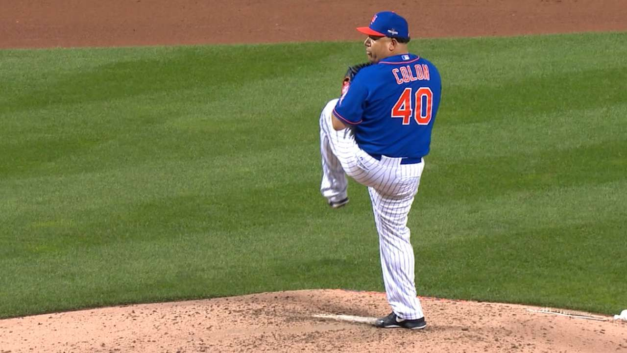 Bartolo K's side on 14 pitches in Game 3 relief