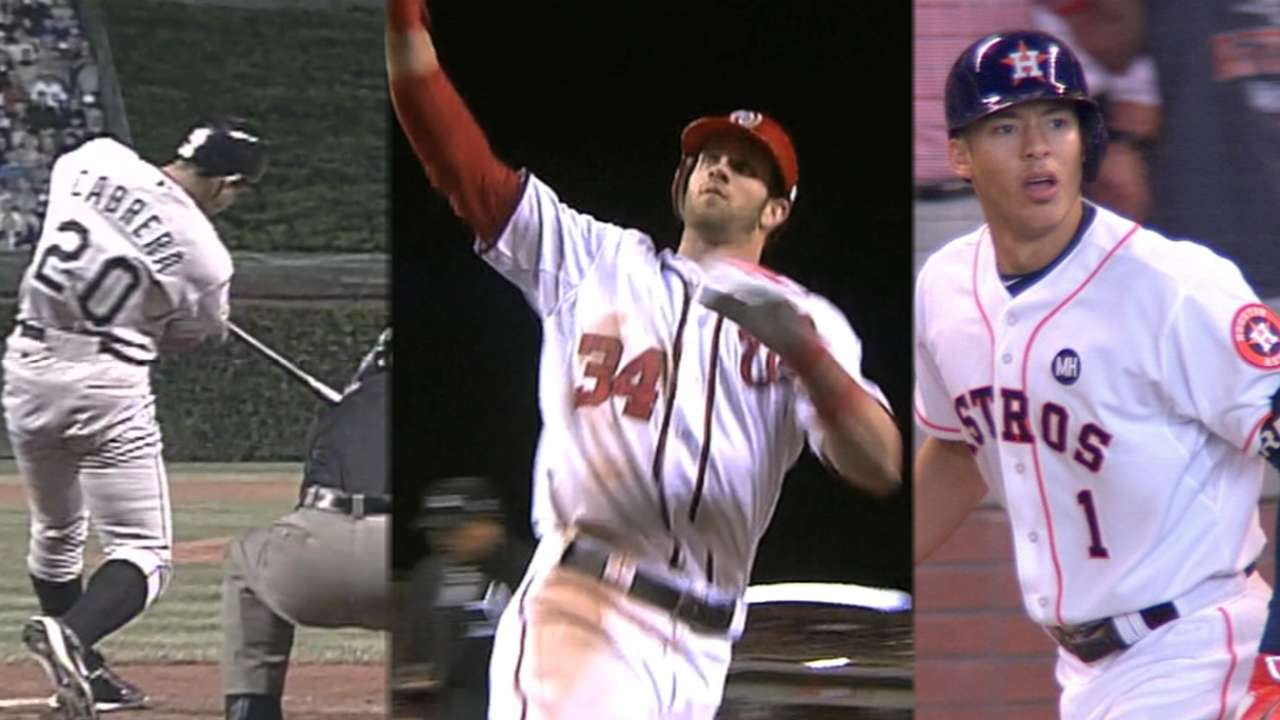 Correa's home run makes history