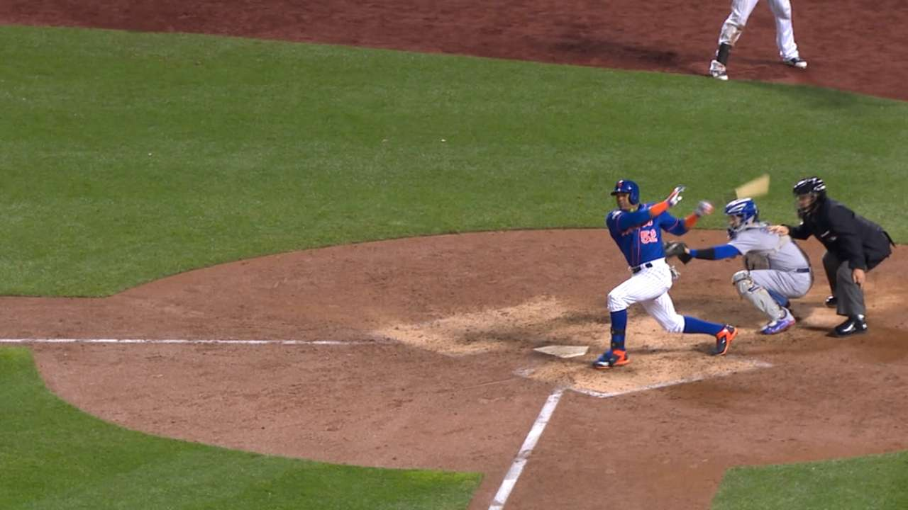 Cuddyer replaces Duda; Baez in for Russell