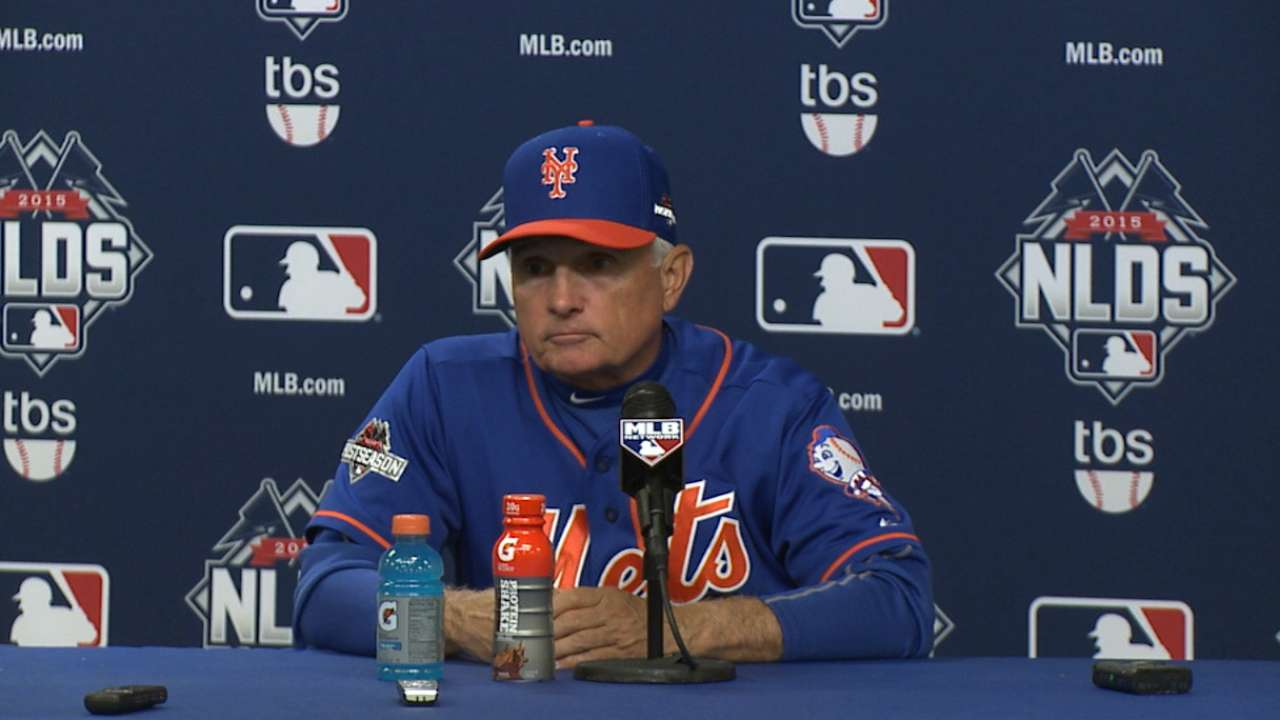 Oct. 12 Terry Collins postgame interview