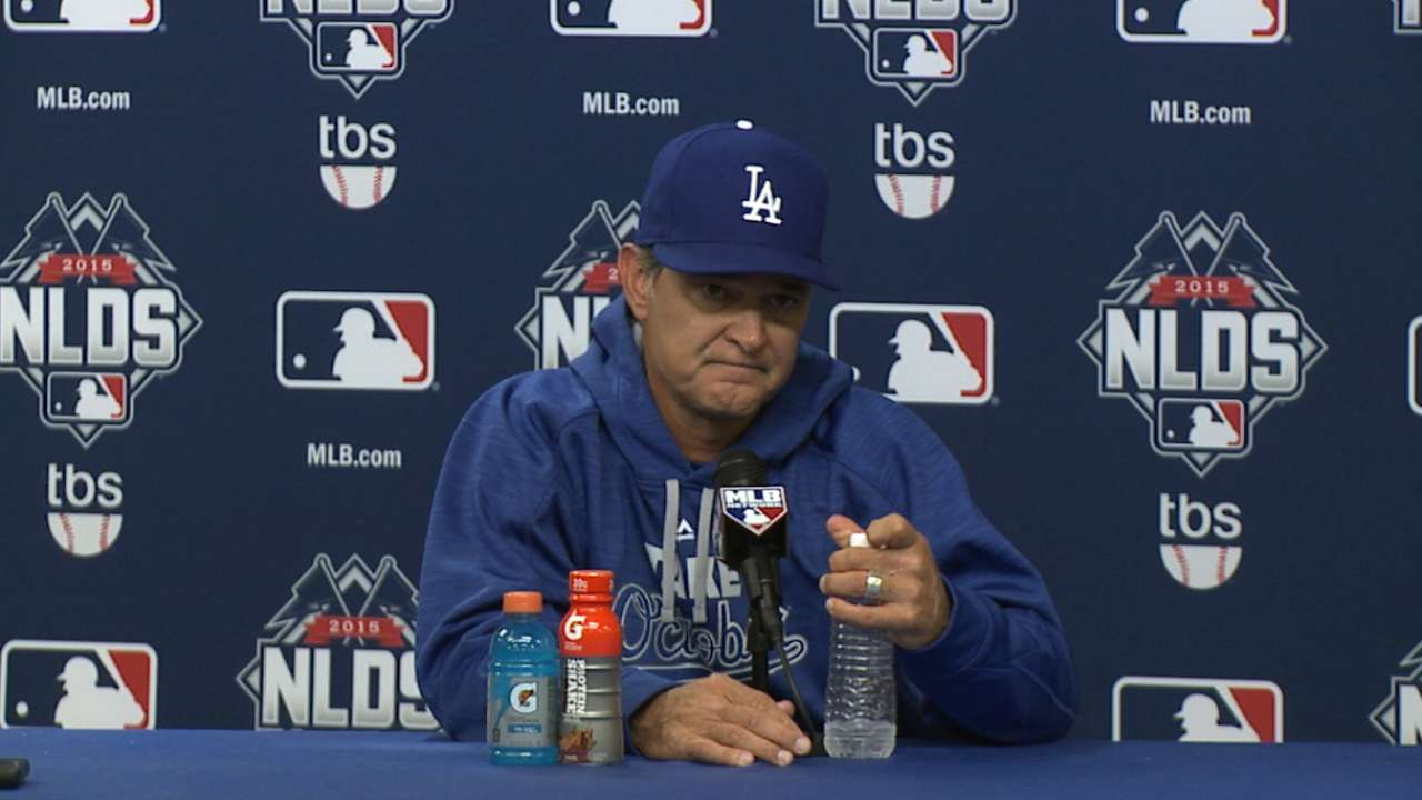 LA vows to bounce back, has pitching to do so