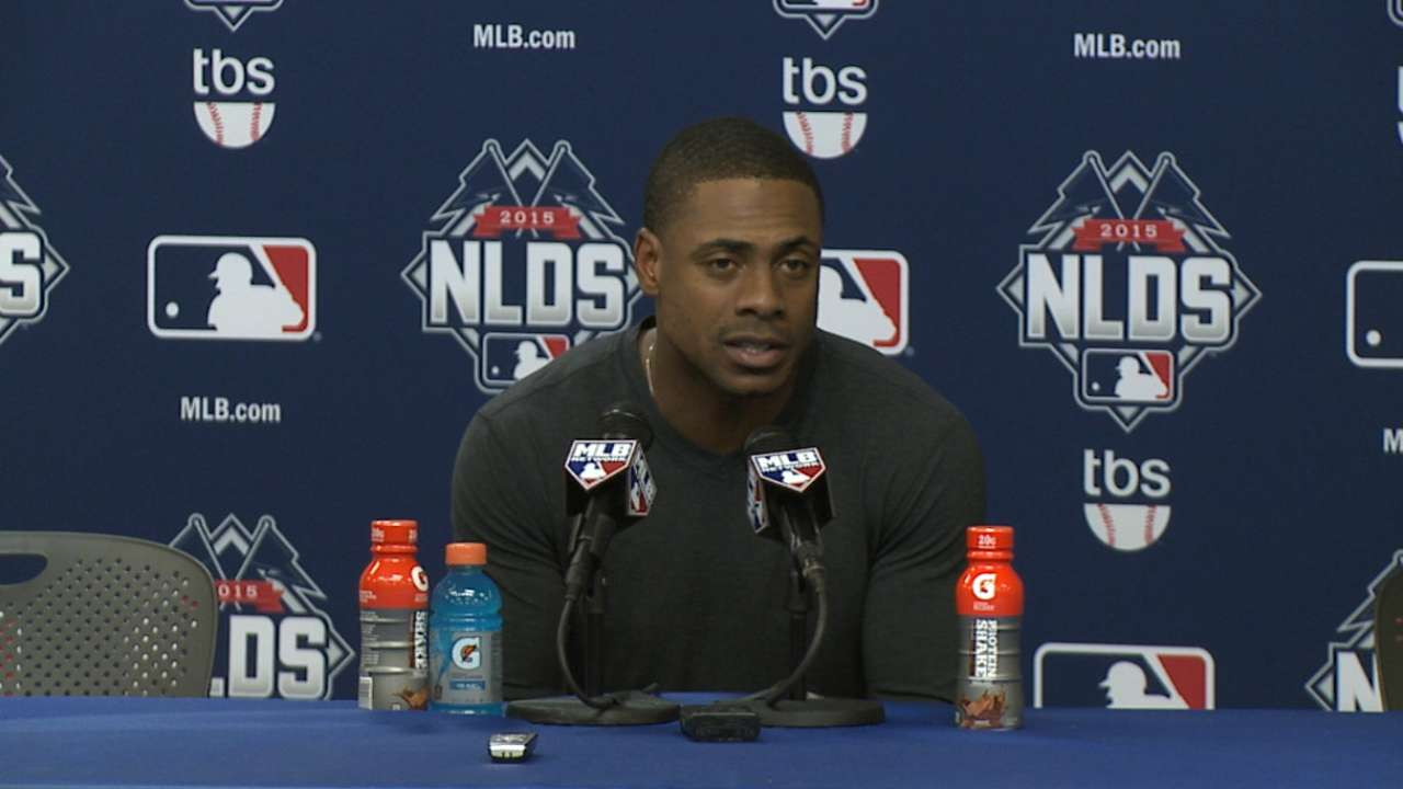Granderson on dominating win