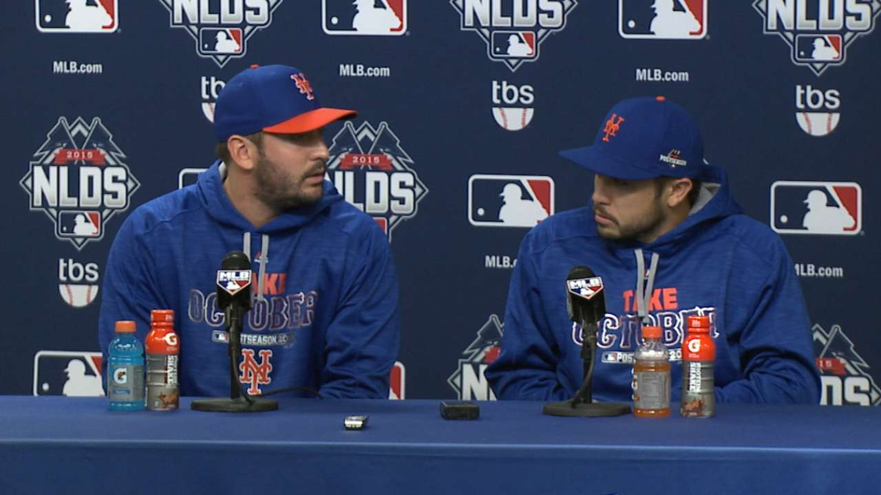 Harvey unavailable for remainder of NLDS