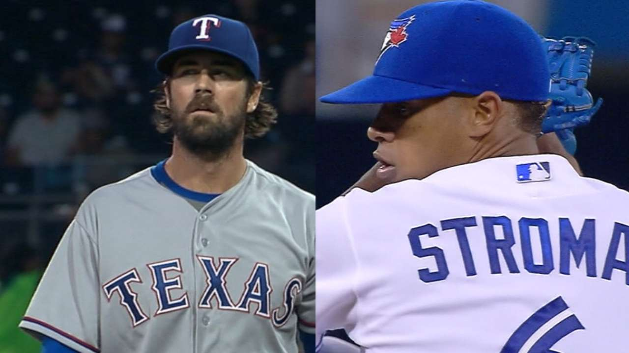 Tale of the Tape: Hamels vs. Stroman